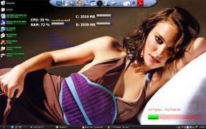 The Natalie Portman desktop